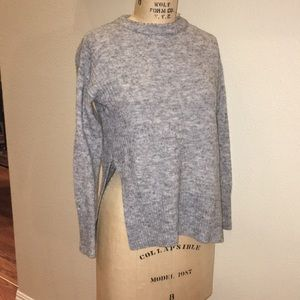 H & M Divided heather gray sweater